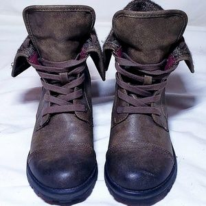 Roxy Surf Co Size 7 Brown Combat Booties